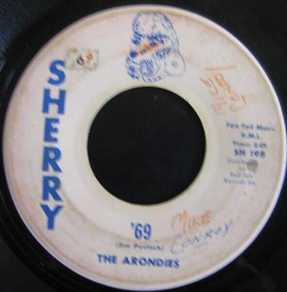 THE ARONDIES - '69 - 7inch x 1