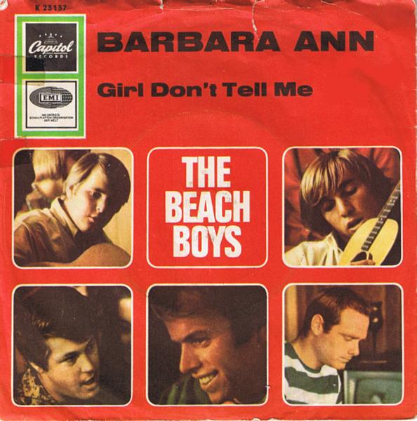 #<Artist:0x00007f81367ed178> - Barbara Ann / Girl Don't Tell Me