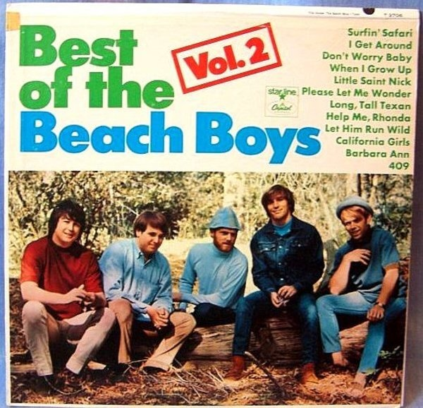 #<Artist:0x00007ff611093f58> - Best Of The Beach Boys Vol. 2