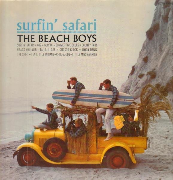 #<Artist:0x00007f811c711b60> - Surfin' Safari / Surfin' USA