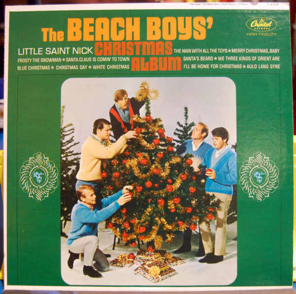 #<Artist:0x007f368f2c3c70> - The Beach Boys' Christmas Album
