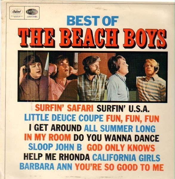 #<Artist:0x000000073e2f40> - Best Of The Beach Boys