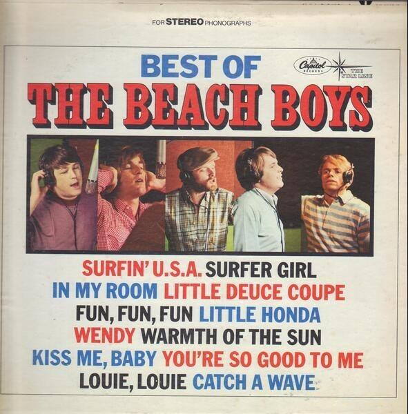 #<Artist:0x007fe6acaf90e8> - Best Of The Beach Boys