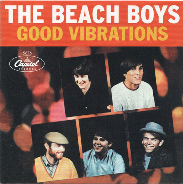 THE BEACH BOYS - Good Vibrations - CD single