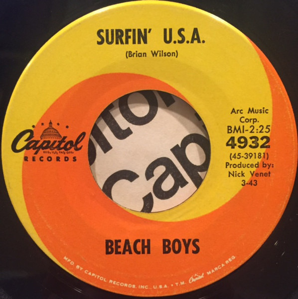 #<Artist:0x00007f418cba7898> - Surfin' U.S.A.