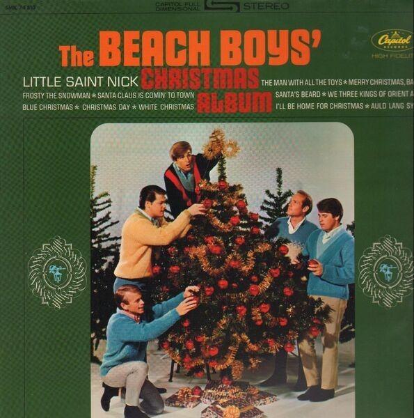 #<Artist:0x007f133ec28438> - The Beach Boys' Christmas Album