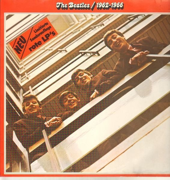 The Beatles 1962 - 1966, Red Album (RED VINYL)