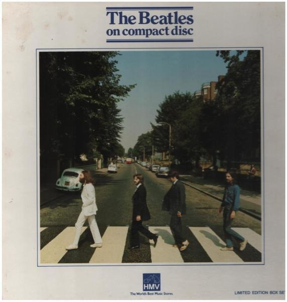 The Beatles abbey road (lp-sized box set)