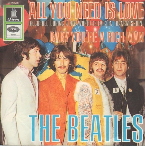 The Beatles All You Need Is Love (PICTURE SLEEVE)