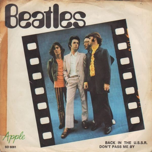 The Beatles Back In The U.S.S.R. (PICTURE SLEEVE)