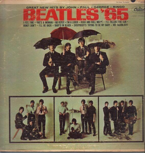 The Beatles Beatles '65 (ORIGINAL 1ST US MONO RAINBOW RIM)
