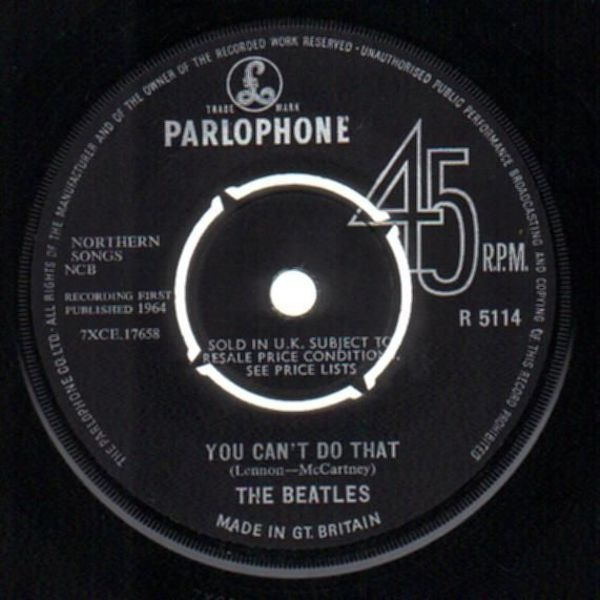 The Beatles Can't Buy Me Love (ORIGINAL 1ST UK, COMPANY SLEEVE)