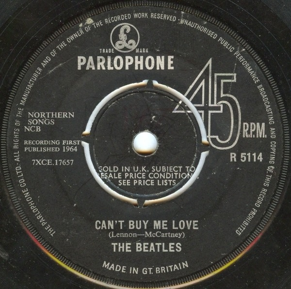The Beatles Can't Buy Me Love / You Can't Do That (UK ORIGINAL)