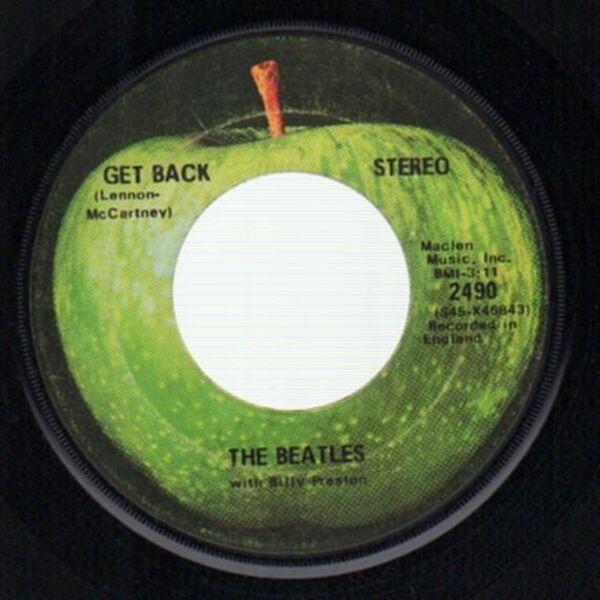 The Beatles Get Back / Don't Let Me Down