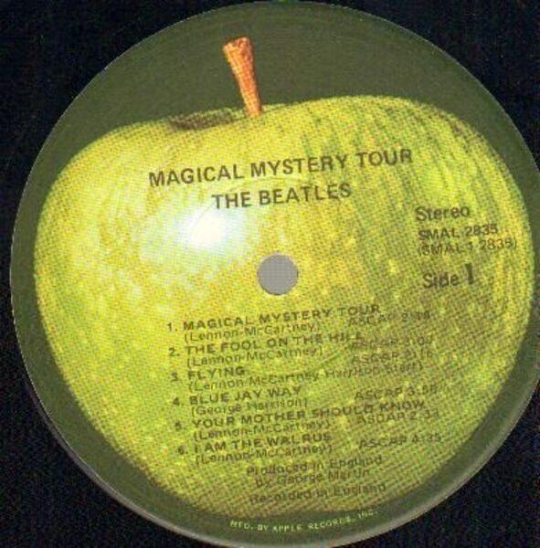 The Beatles Magical Mystery Tour (GATEFOLD SLEEVE, +BOOKLET)