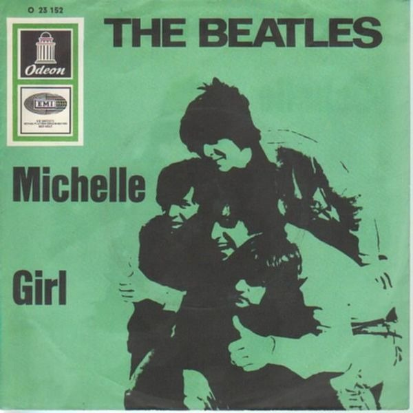 The Beatles Michelle / Girl (PICTURE SLEEVE)
