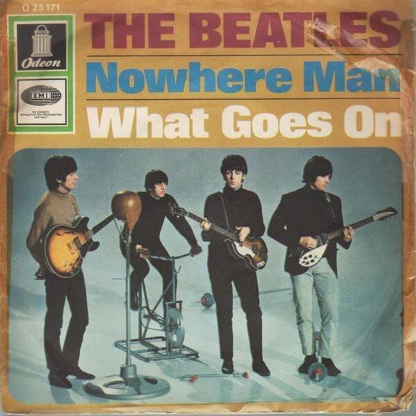 beatles song nowhere man