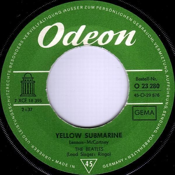 #<Artist:0x00007fd9007aec30> - Yellow Submarine / Eleanor Rigby
