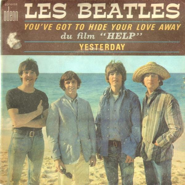 the beatles you've got to hide your love away / yesterday (rare france)