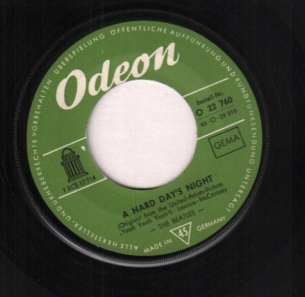 The Beatles A Hard Day's Night (ORIGINAL GERMAN)