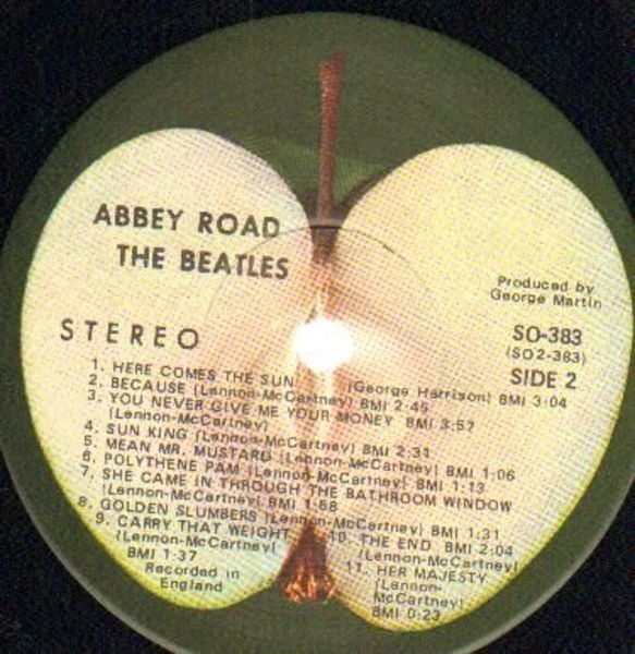 The Beatles Abbey Road (US APPLE LABEL)