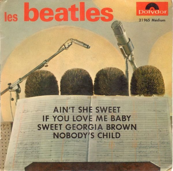The Beatles Ain't She Sweet (ORIGINAL FRENCH EP)