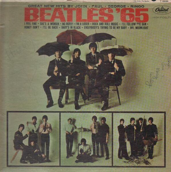 #<Artist:0x007f14d528f8e8> - Beatles '65