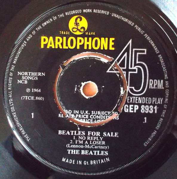 #<Artist:0x0000000491afd8> - Beatles for Sale