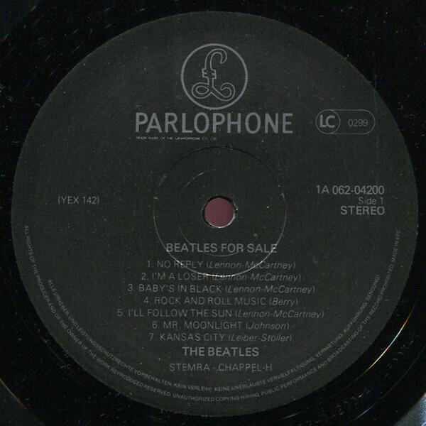 #<Artist:0x007efd26685ec8> - Beatles for Sale