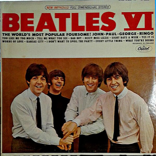 #<Artist:0x007faf2e1bb608> - Beatles VI