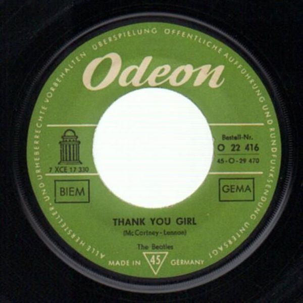 The Beatles From Me To You (COMPANY SLEEVE)