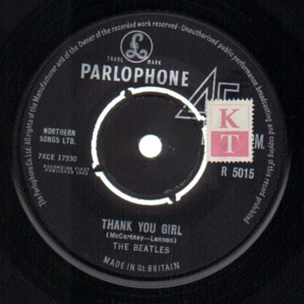 The Beatles from me to you (original 1st uk, company sleeve)