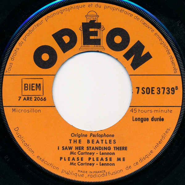 The Beatles from me to you (6th type)
