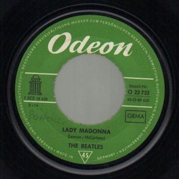 The Beatles Lady Madonna (ORIGINAL 1ST GERMAN)