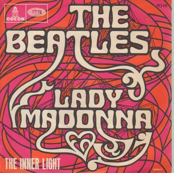 The Beatles Lady Madonna (PICTURE SLEEVE)