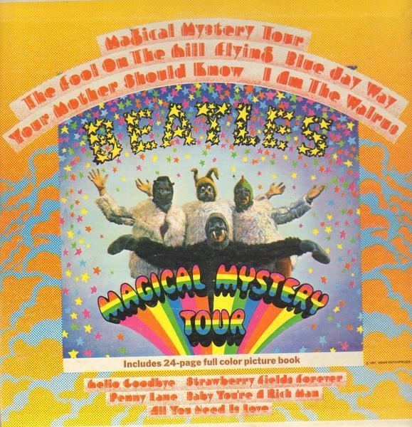 #<Artist:0x007f5c96111ee0> - Magical Mystery Tour