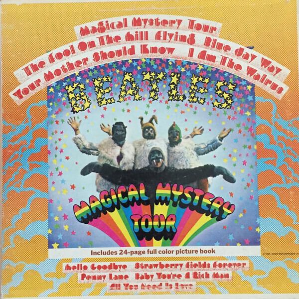 #<Artist:0x007f84972d3a98> - Magical Mystery Tour
