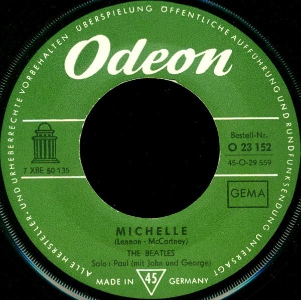 The Beatles Michelle / Girl (ORIGINAL 1ST GERMAN)