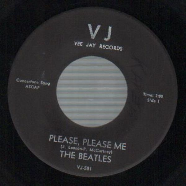 The Beatles Please Please Me / From Me To You (BLACK VJ NO BRACKETS)