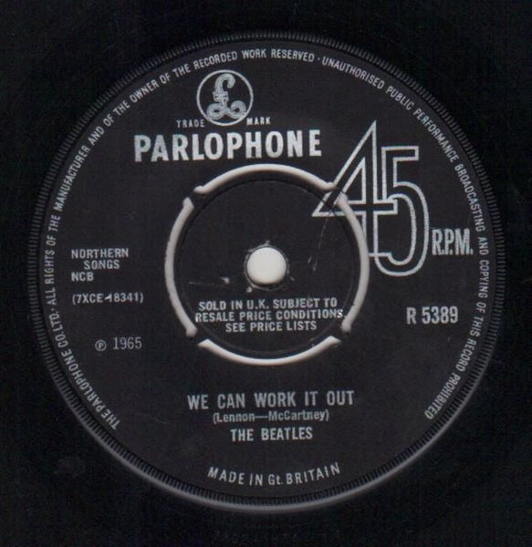 #<Artist:0x007f984fd20d40> - We Can Work It Out / Day Tripper