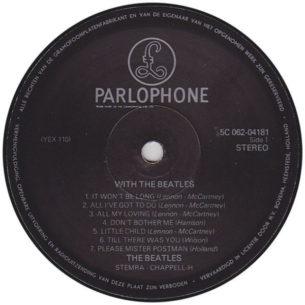#<Artist:0x007f24d06a3410> - With the Beatles
