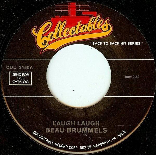 THE BEAU BRUMMELS / THE BEACH BOYS - Laugh, Laugh / Surfin' - 7inch x 1