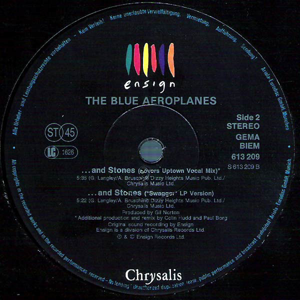 The Blue Aeroplanes ... And Stones