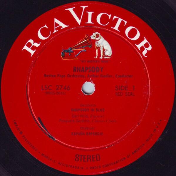The Boston Pops Orchestra / Arthur Fiedler Rhapsody