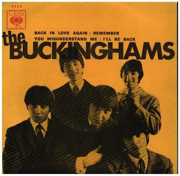 The Buckinghams Back In Love Again EP (ORIGINAL PORTUGUESE EP)