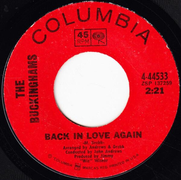 The Buckinghams Back In Love Again
