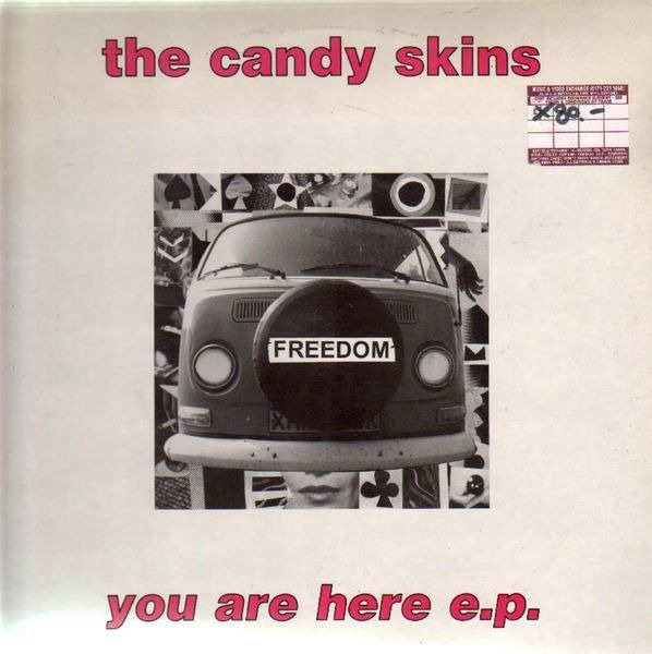 THE CANDY SKINS - You Are Here E.P. - 12 inch x 1