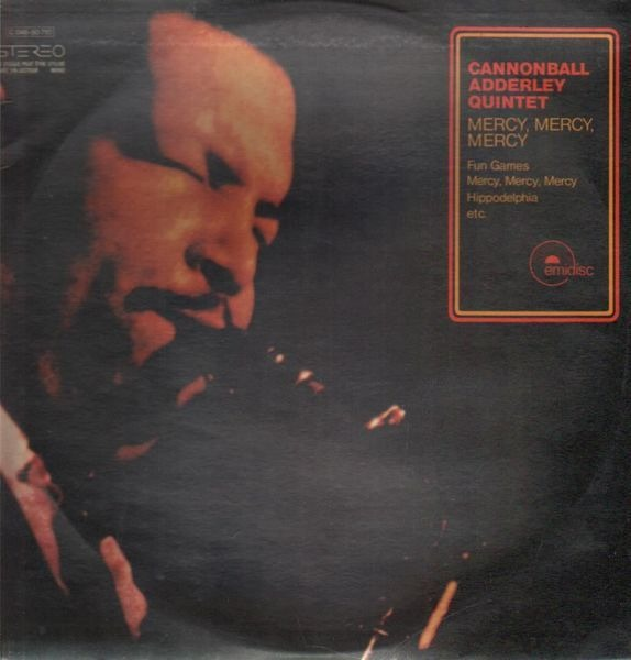 the cannonball adderley quintet mercy, mercy, mercy ('live at the club')