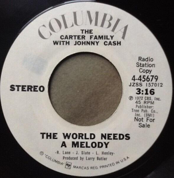 #<Artist:0x00000006d24c30> - The World Needs A Melody