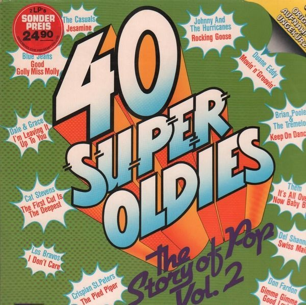 The Casuals, Cat Stevens, ... 40 Super Oldies - The Story Of Pop Vol. 2 (GATEFOLD)